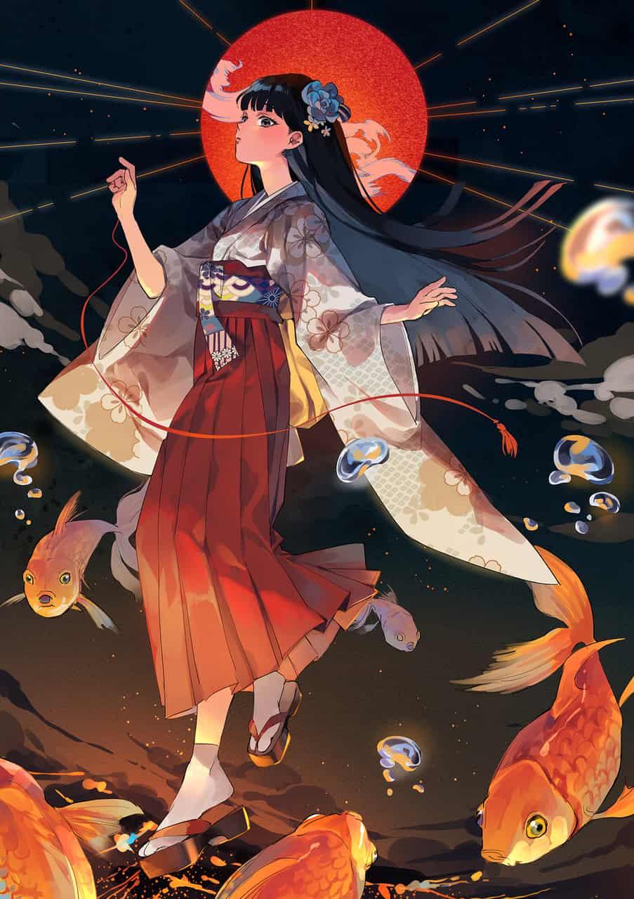 結緣 Illust of 阿歾 Kyoto_Award2020_illustration