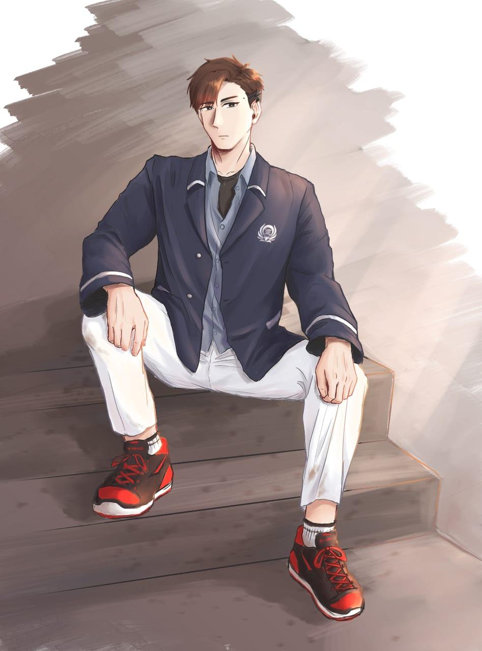 林宇哲 Illust of vickypon January2021_Contest:OC