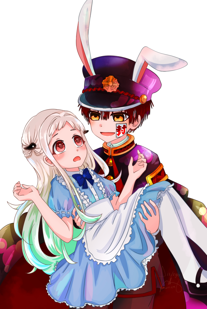 ... Illust of Ømurice medibangpaint fanart hanako NeneYashiro anime JSHK Toilet-boundHanako-kun