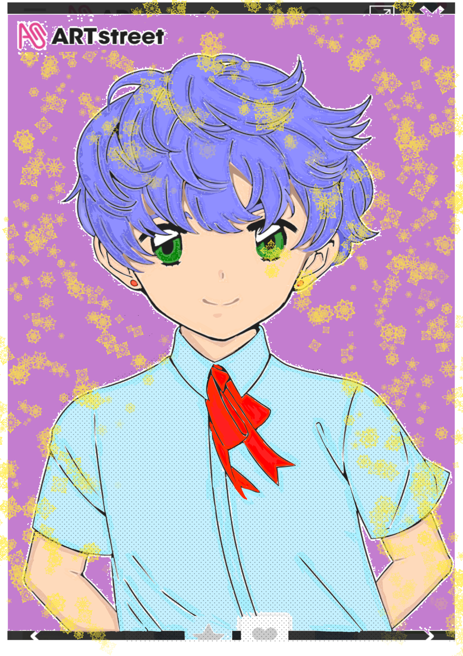 Cute boy Illust of astrosiver2018 medibangpaint anime The_Changellers fanart Trace&Draw【Official】 animestyle illustration DrawingLessons animeboy Ilustration