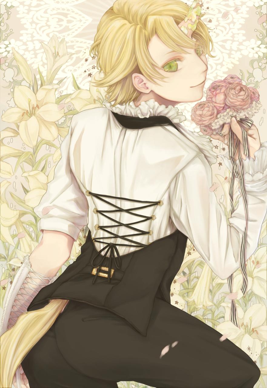 清純とは名ばかり Illust of 山園七椿 medibangpaint flower original