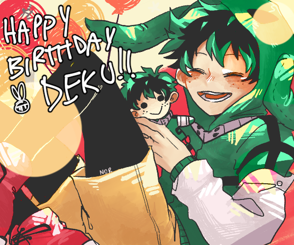 Happy Birthday Deku!!