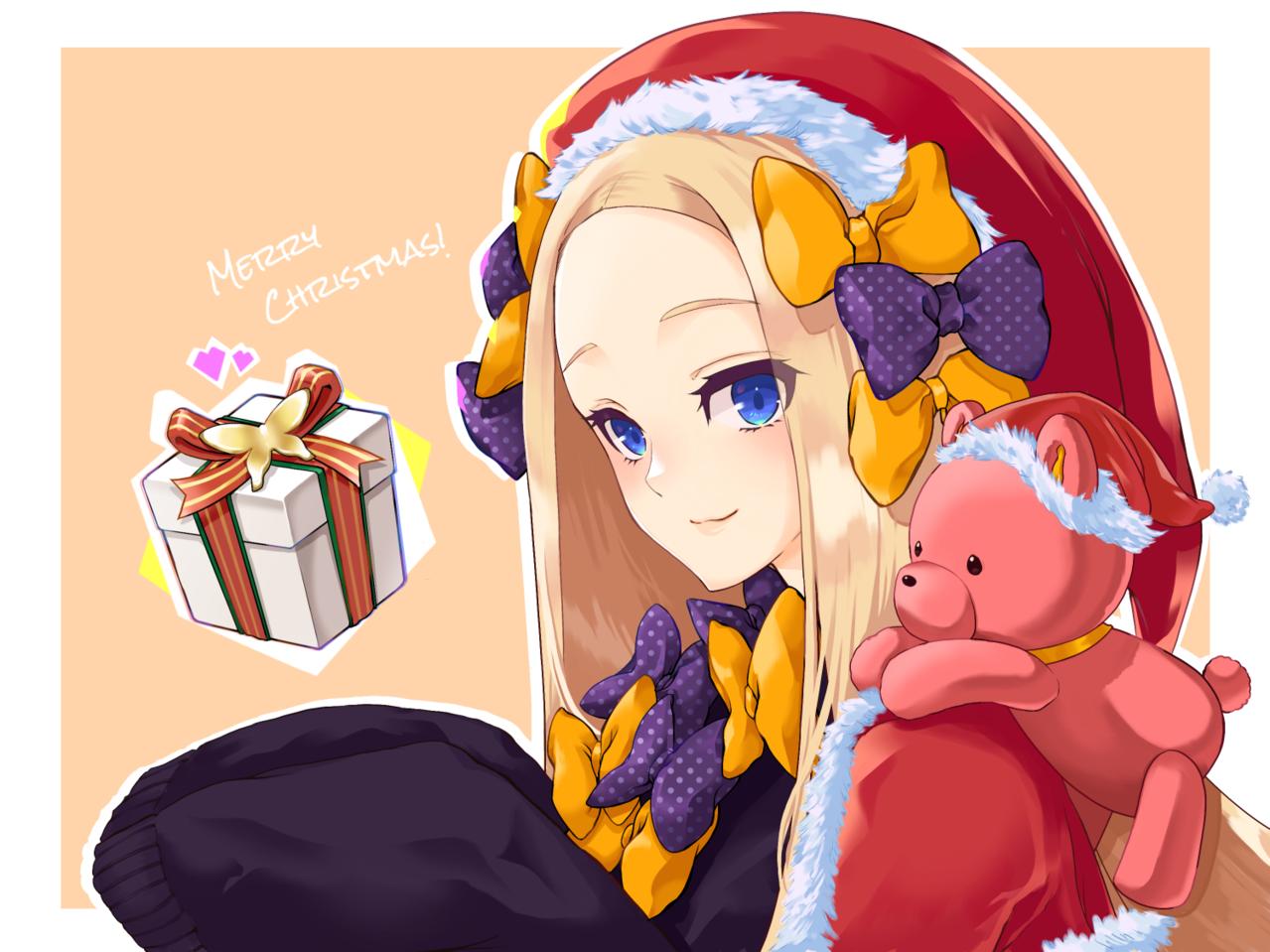 Xmas・アビゲイル / Fate/GrandOrder Illust of PANCo dec.2019Contest Christmas fanfic アビゲイル・ウィリアムズ(FGO) procreate Fate fanart アビゲイル Fate/GrandOrder