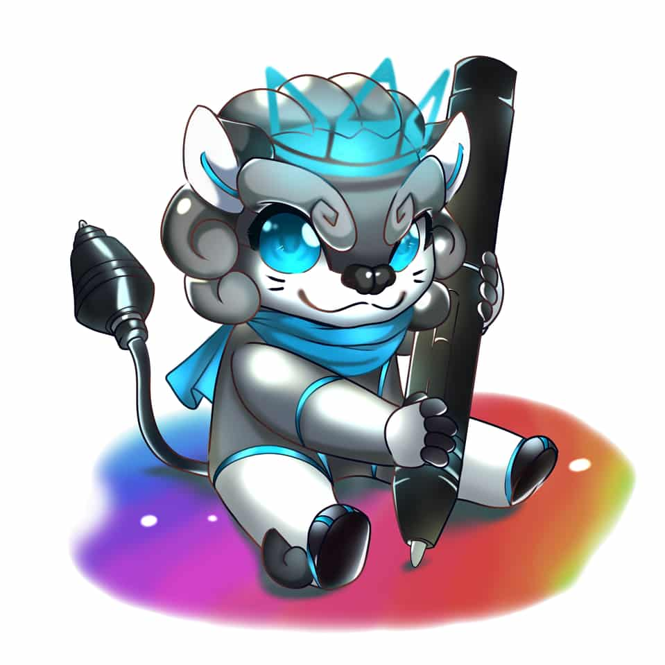 Leon's Colorful Future Illust of Simmydina HuionDesign huion design Leon