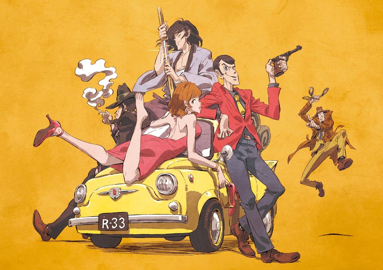 ルパン三世 Illust of ちーくん 次元大介 LupintheThird Lupin 銭形警部 峰不二子 石川五エ門 ルパン