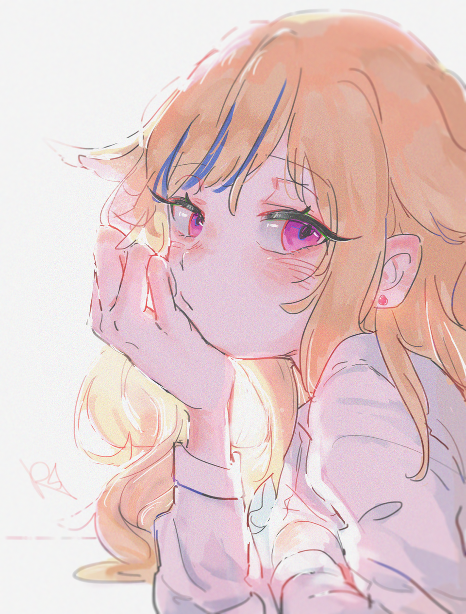 Illust of RSazu virtual_YouTuber illustration ヒメヒナ art himehina