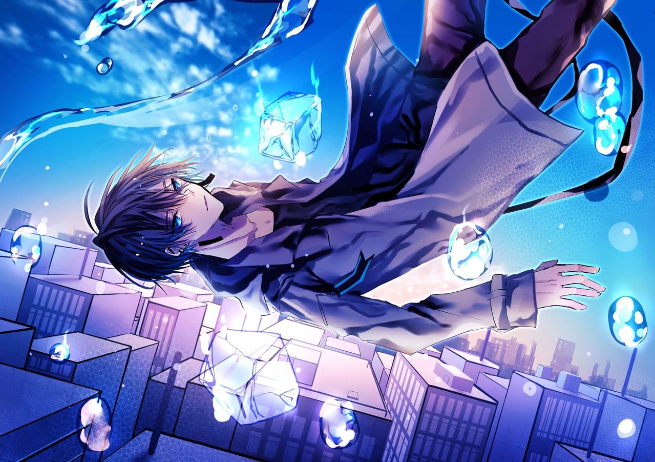 投身 Illust of 八瀬 January2021_Contest:OC original blue boy illustration oc