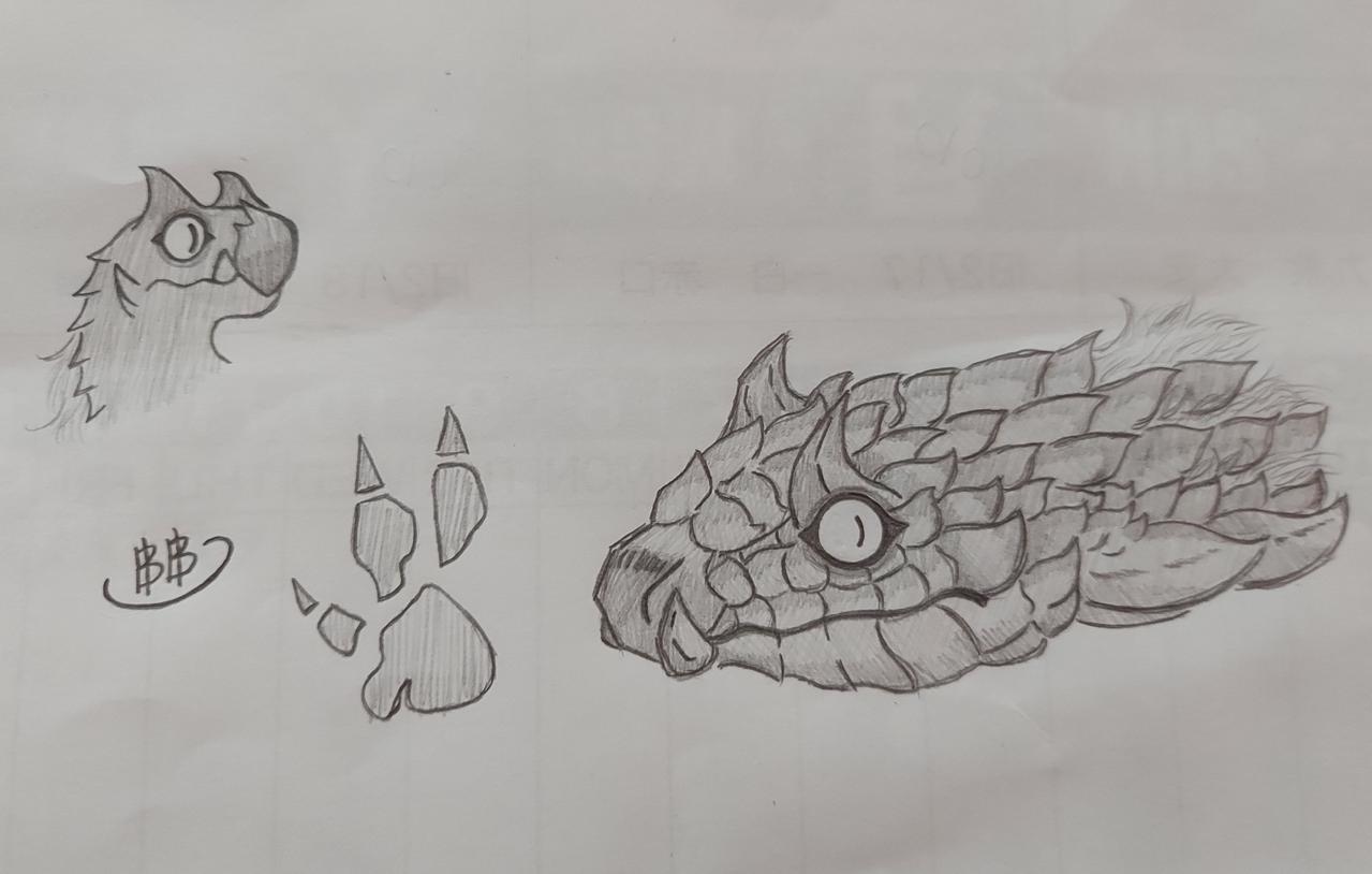 Doodle! (Read the desc.) Illust of ฿₳ⱠĐł ฿₳ⱠĐł₥ØⱤɆ medibangpaint MonsterHunter