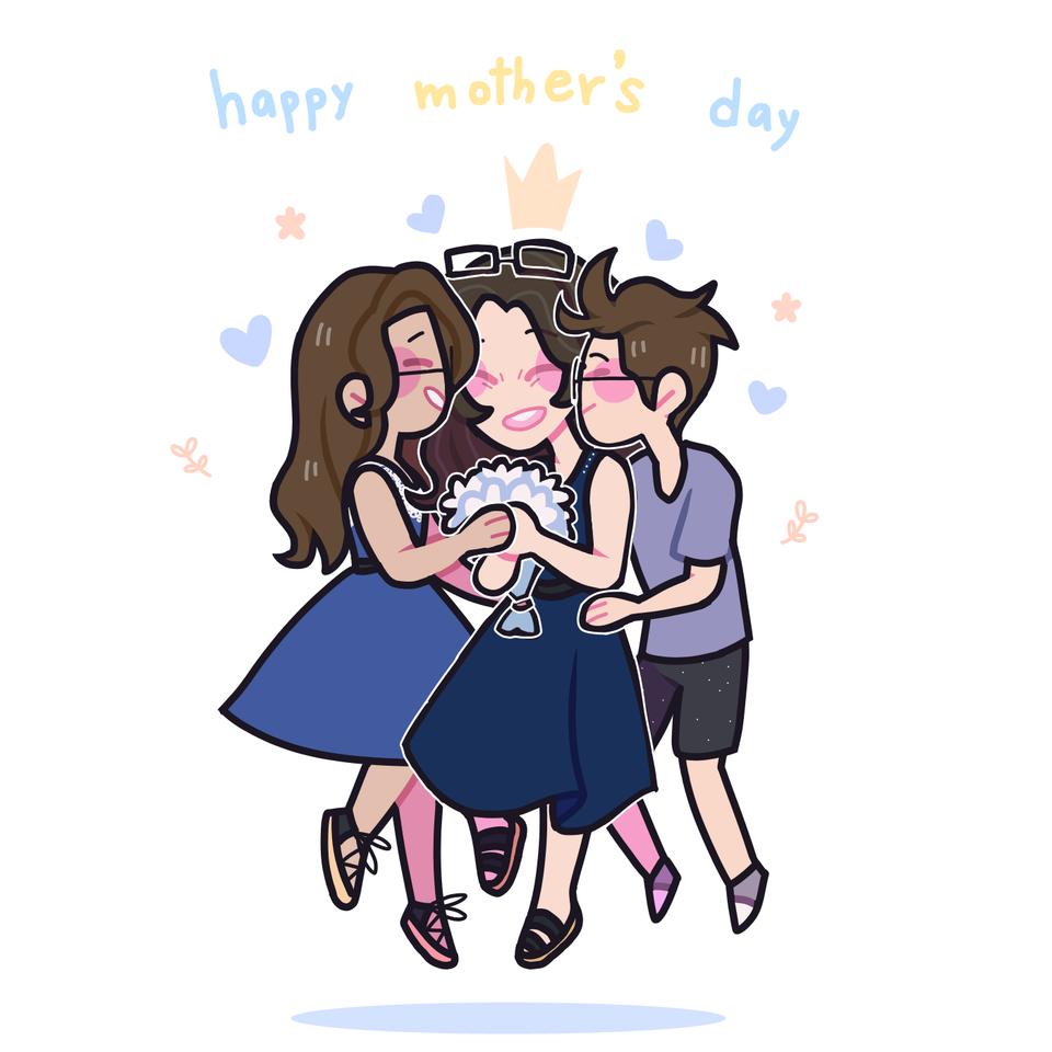 happy mum day Illust of raineko medibangpaint