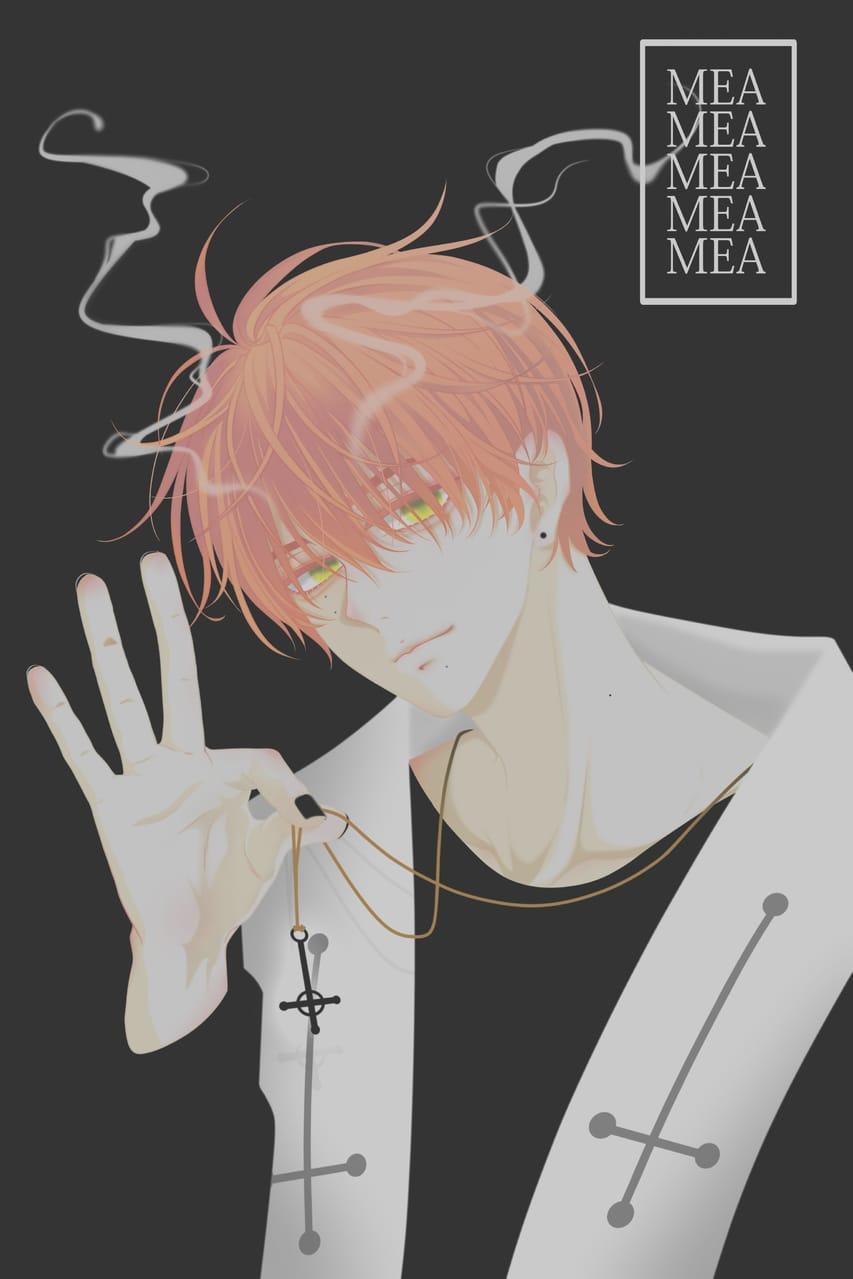 The evil. Illust of MEA January2021_Contest:OC oc medibangpaint Evil black digital priest originalart