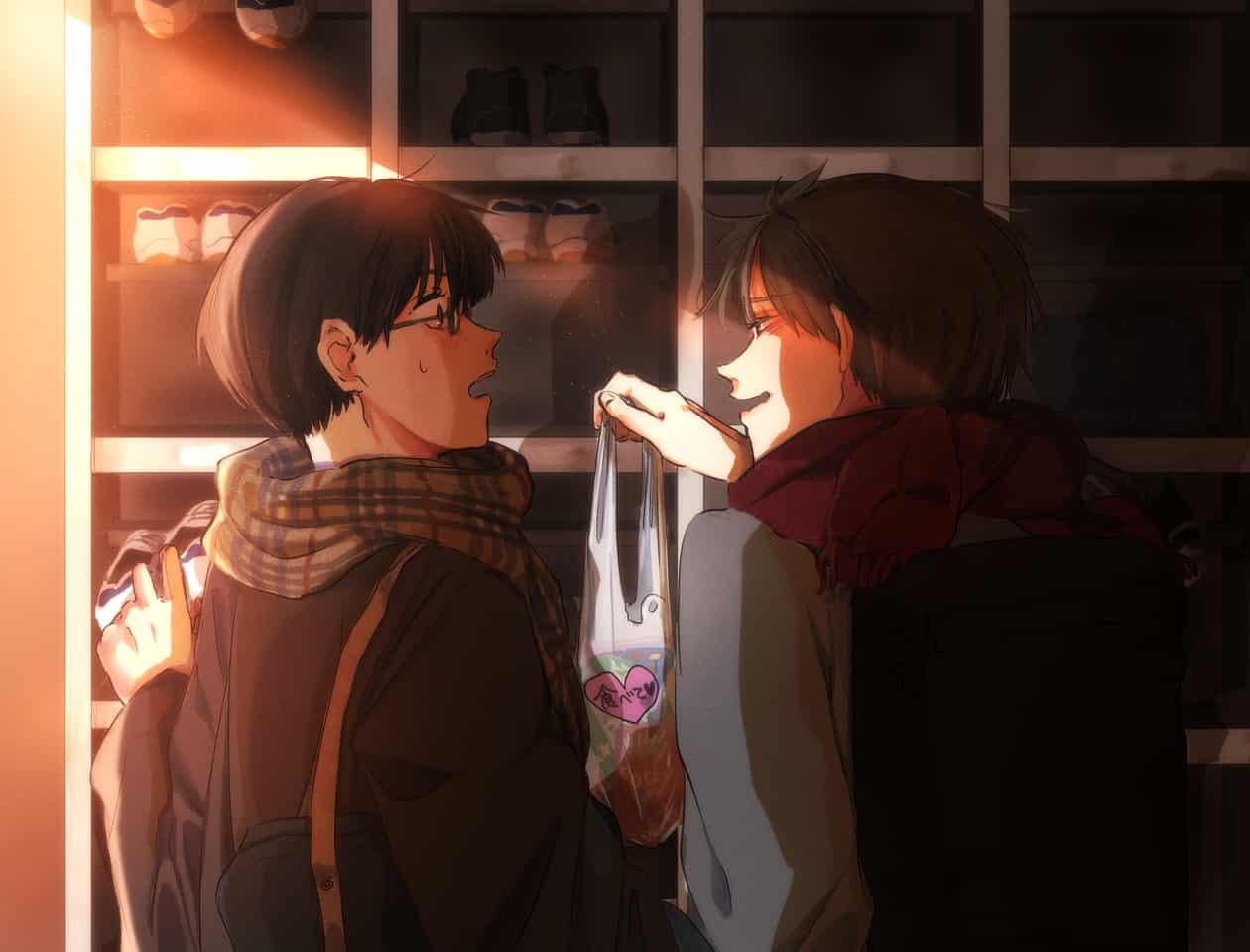 『貰いすぎたから一緒に食お!』 Illust of 東雲 Feb2020:VDAY
