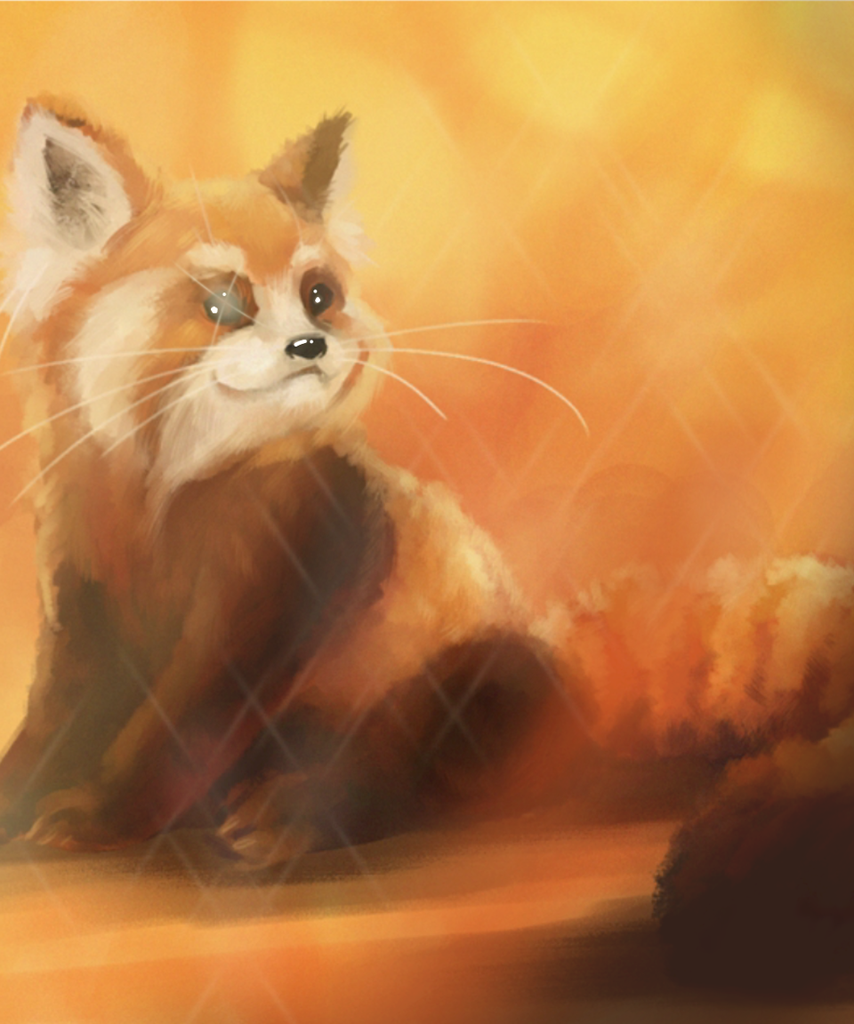Another Red panda.  Illust of AidiBest1 medibangpaint