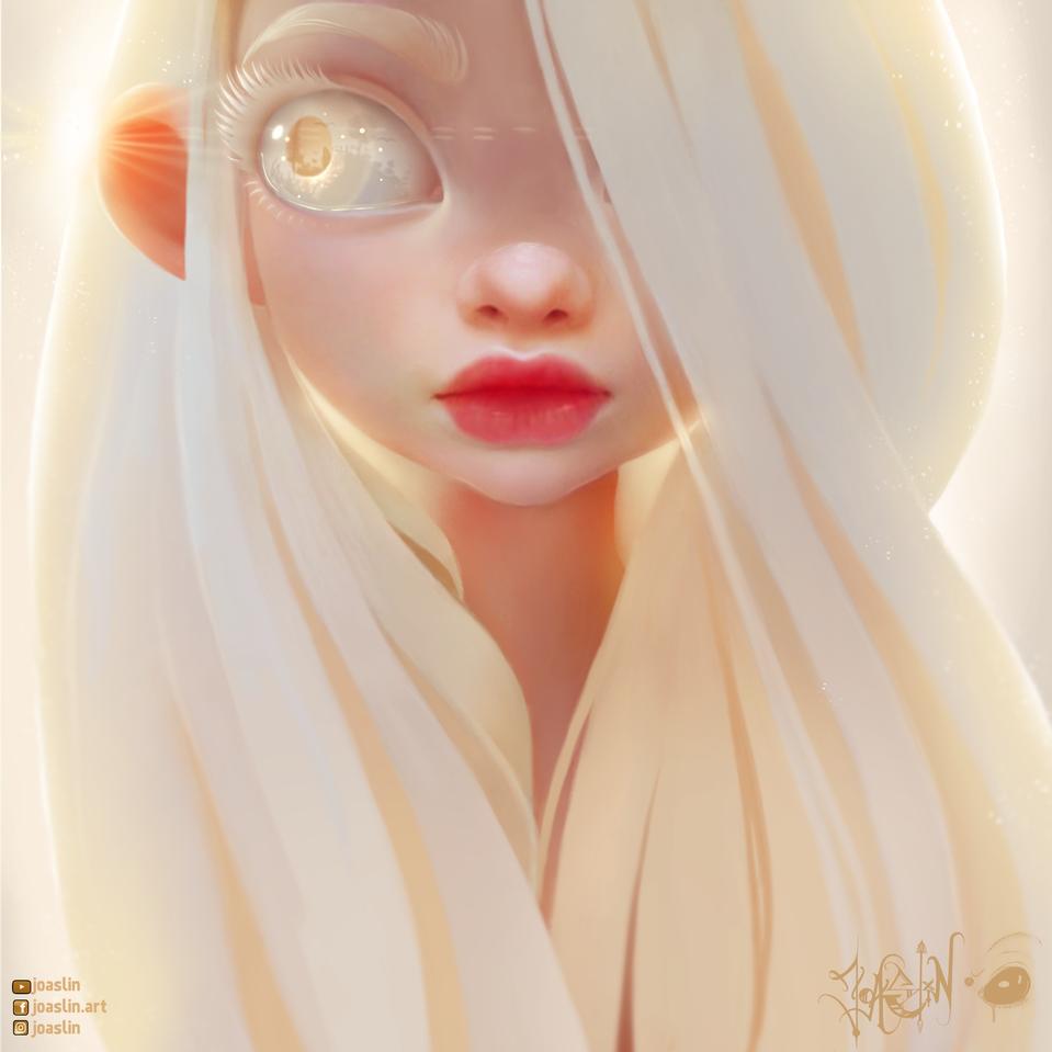 Creamy 🥞 Illust of JoAsLiN ARTstreet_Ranking art eyes girl oc manga anime illustration white digital original