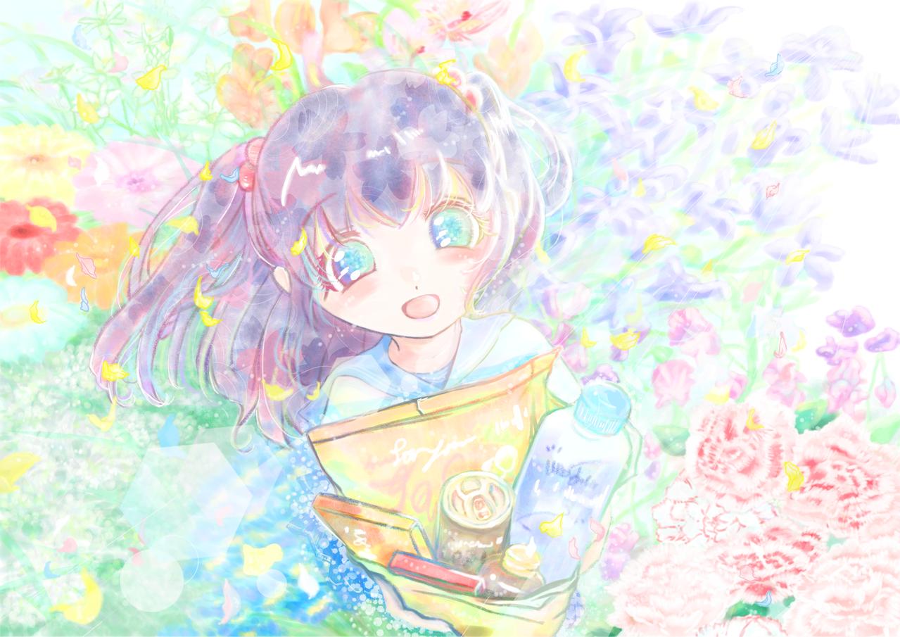 差し入れです Illust of 八零(ハチゼロ) May.2020Contest:Cheering pastel