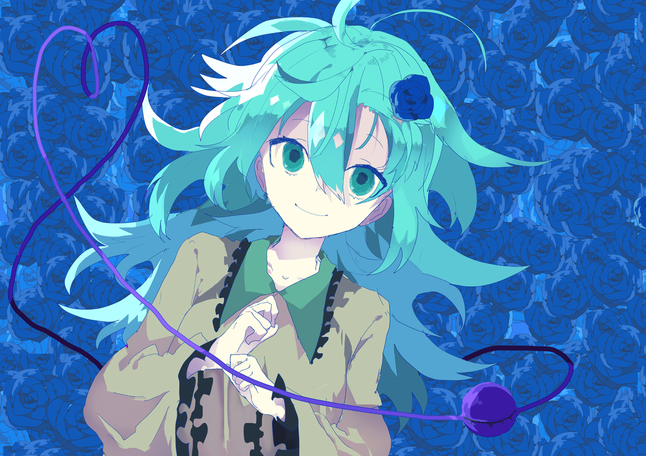 古明地 Illust of 串 medibangpaint 古明地こいし Touhou_Project