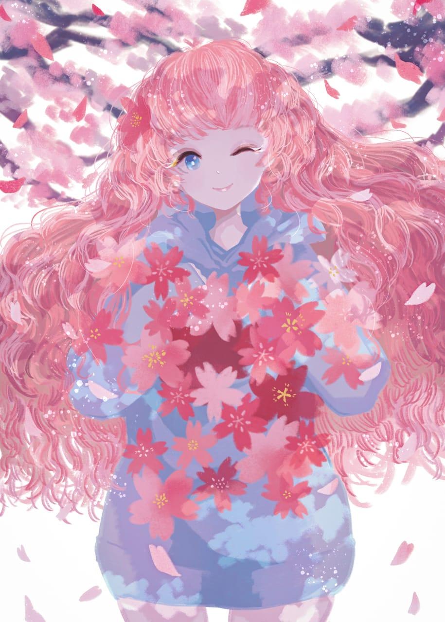 桜 Illust of 伊砂祐李 (Yuri Isa) 春 girl original sakura
