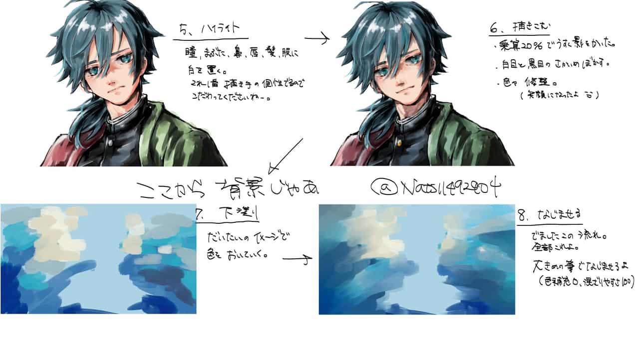 冨岡義勇メイキング Illust of Nats*なー TomiokaGiyuu メイキング KimetsunoYaiba