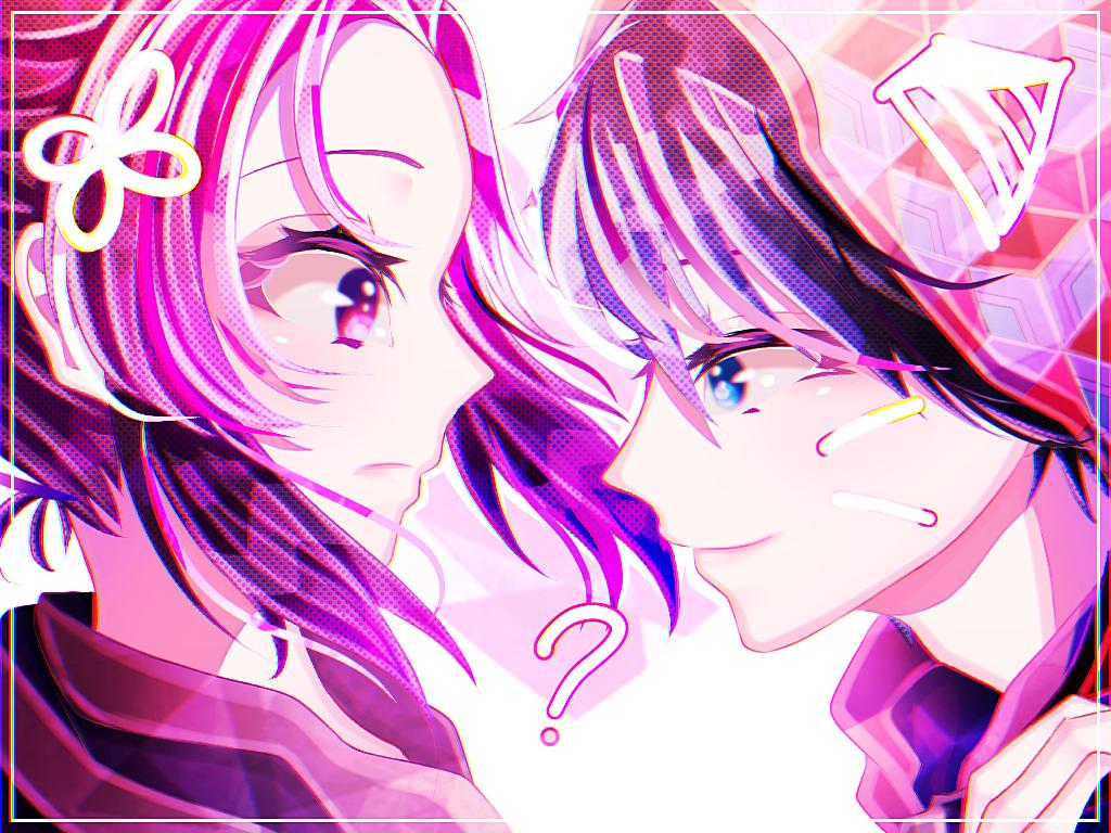 Shinobu X Giyuu Illust of UNDERDOGS. medibangpaint cute ぎゆしの girl KochouShinobu couple anime TomiokaGiyuu KimetsunoYaiba boy