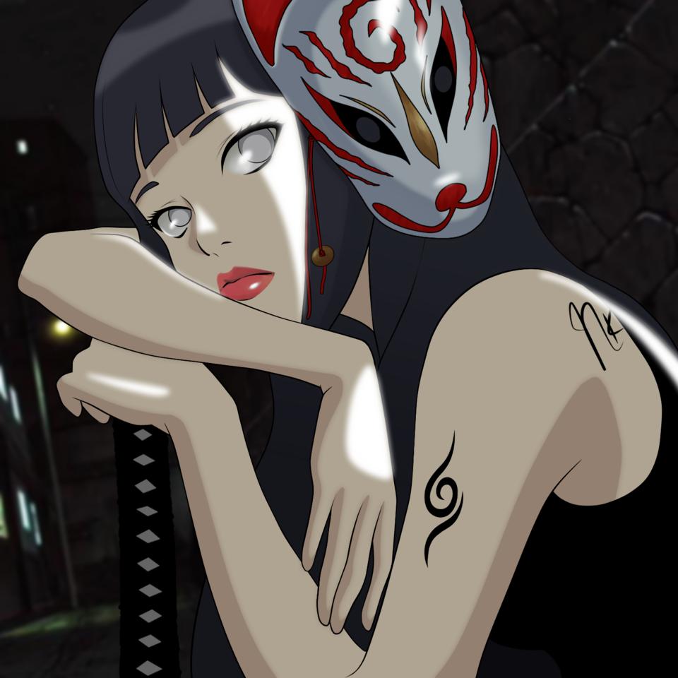 r_naruto_0001 Illust of NeokVG art hyuuga fanart hinata NARUTO anime drawing shippuden digital manga
