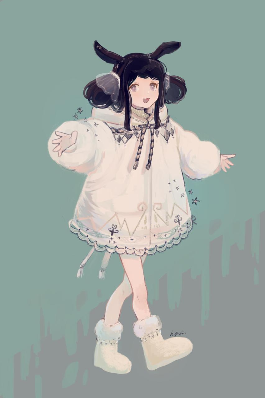★ Illust of Hagm girl oc