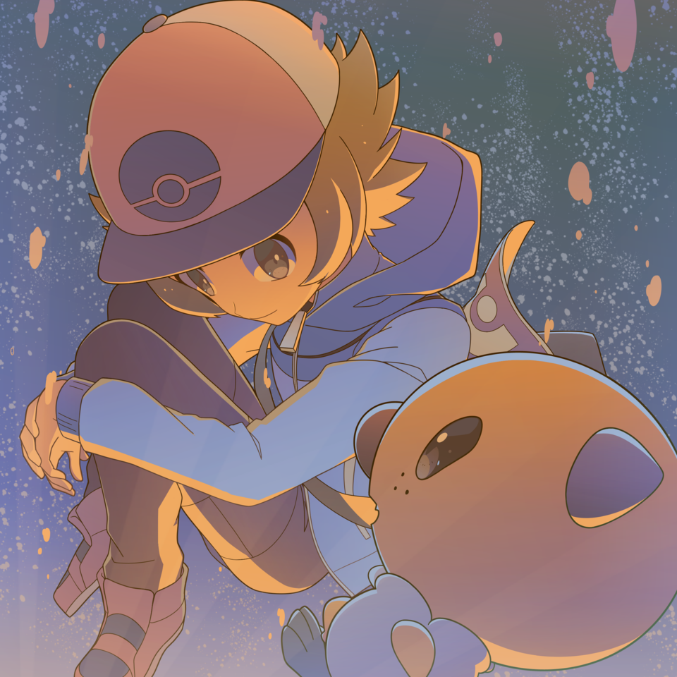 Illust of 芹原 pokemon トウヤ(ポケモン)