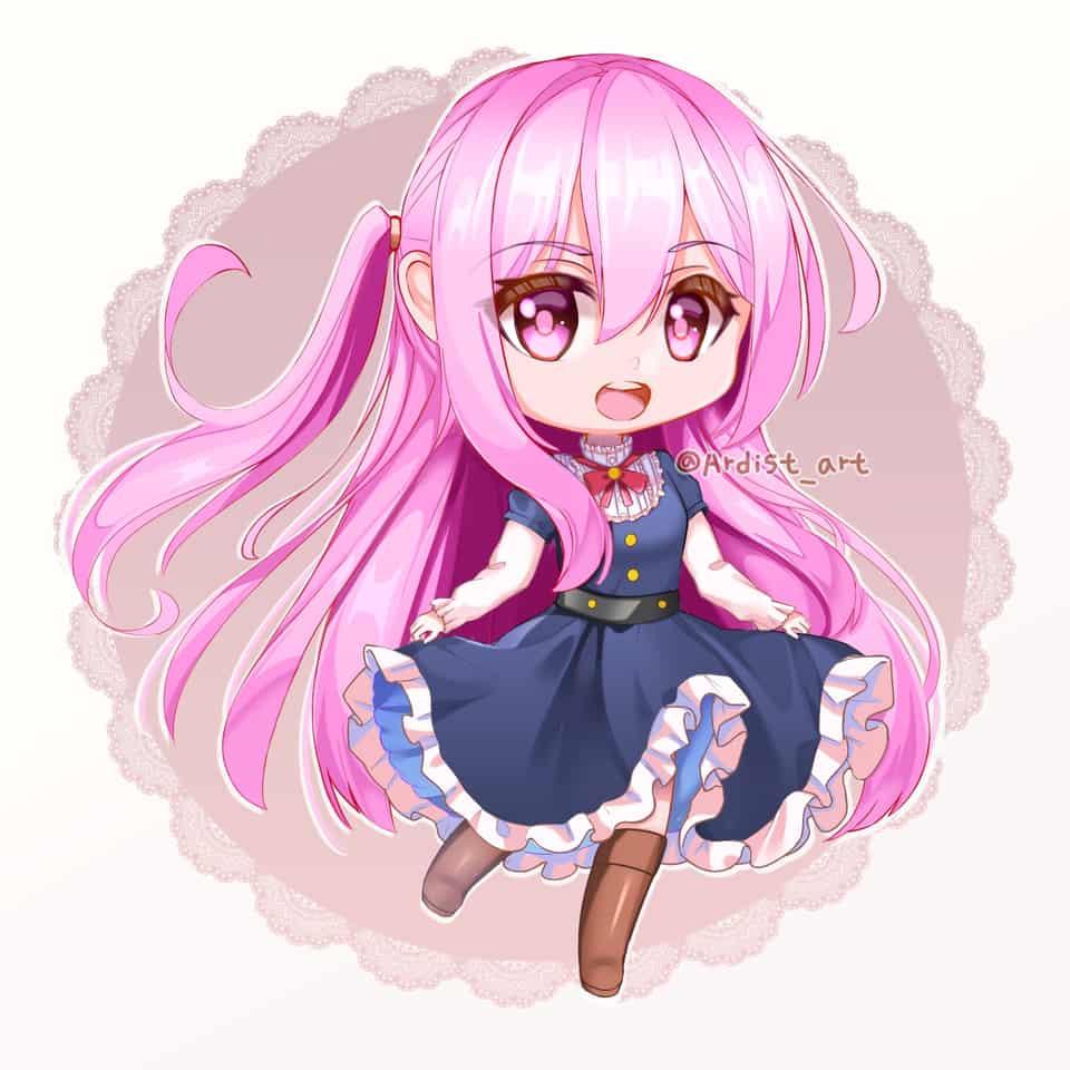 Nino Illust of Ardist anime drawing medibangpaint art oc