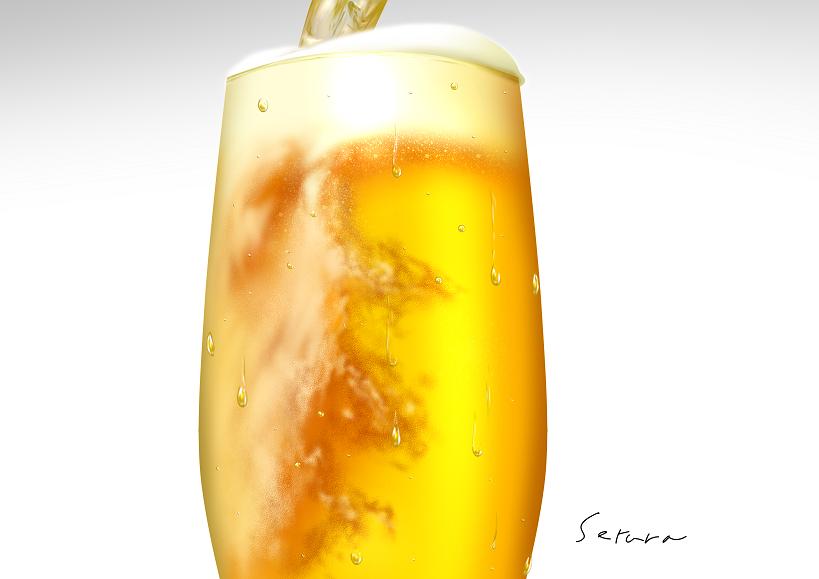 ビール(練習)
