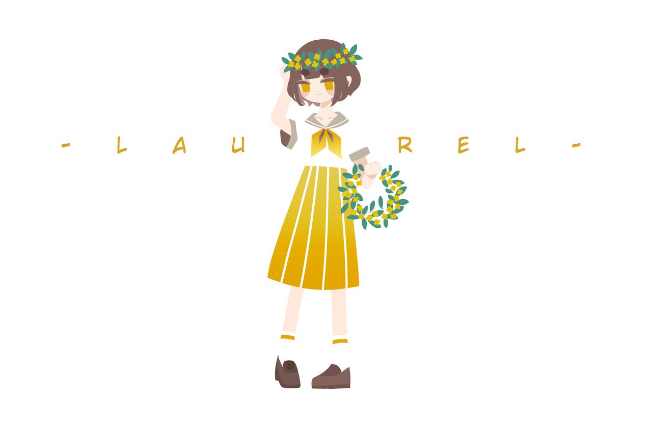 laurel Illust of けある medibangpaint oc original