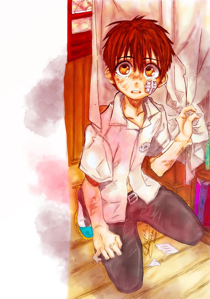 coloreado hanako kun y ciel phantomhive  Illust of Alice Coloreadodigital BlackButler Toilet-boundHanako-kun