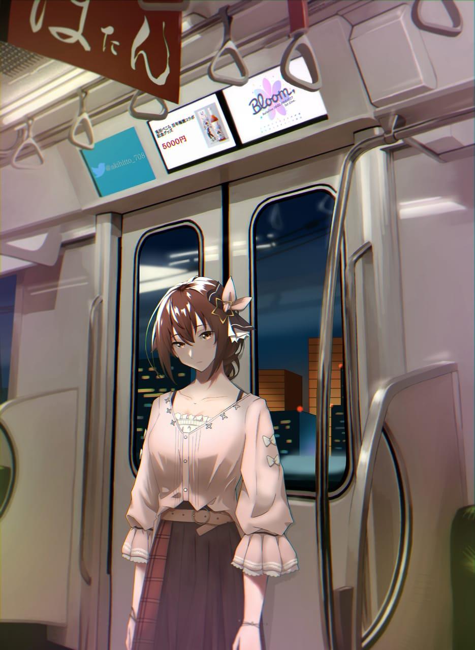 「デートの後」 Illust of Akki ときのそら girl virtual_YouTuber scenery hololive