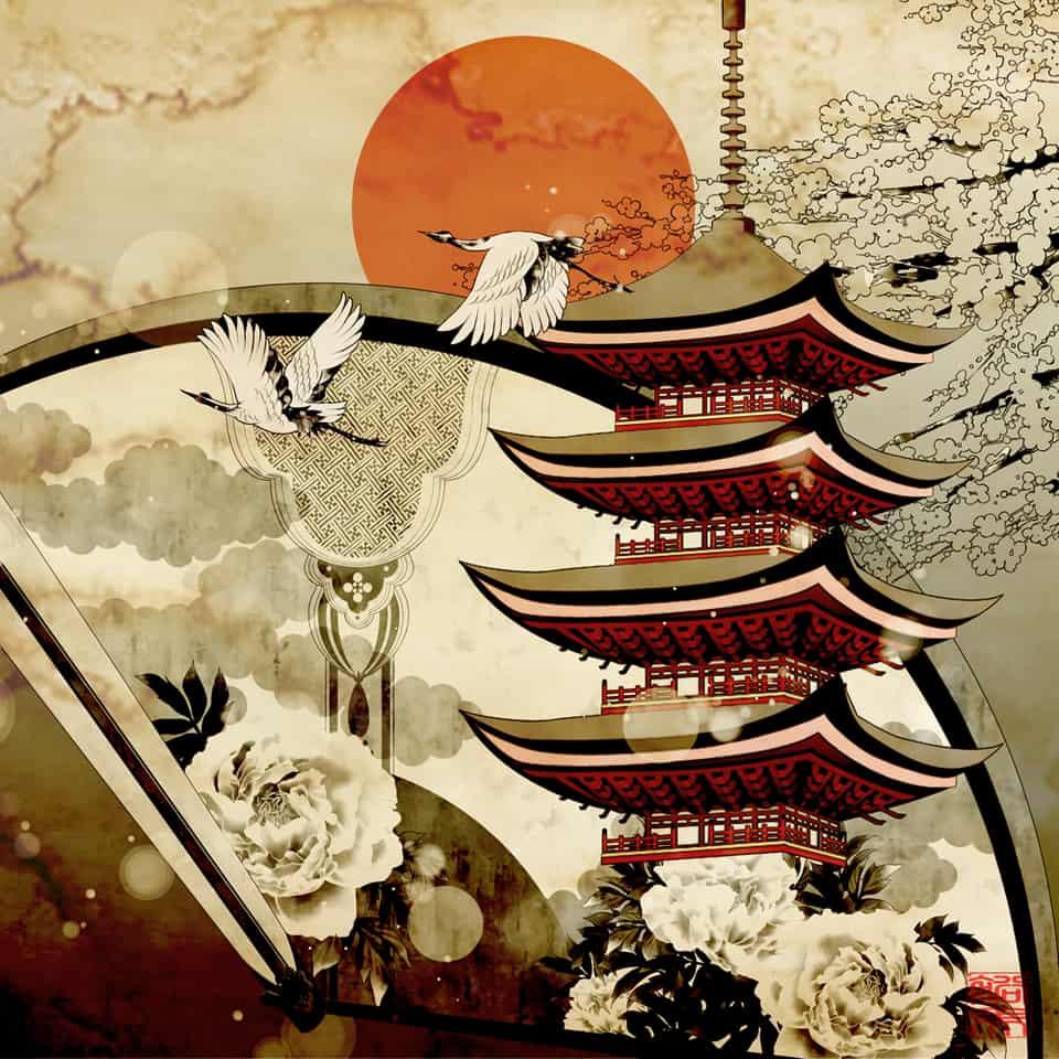 無題 Illust of yanp Japanese_style 五重塔