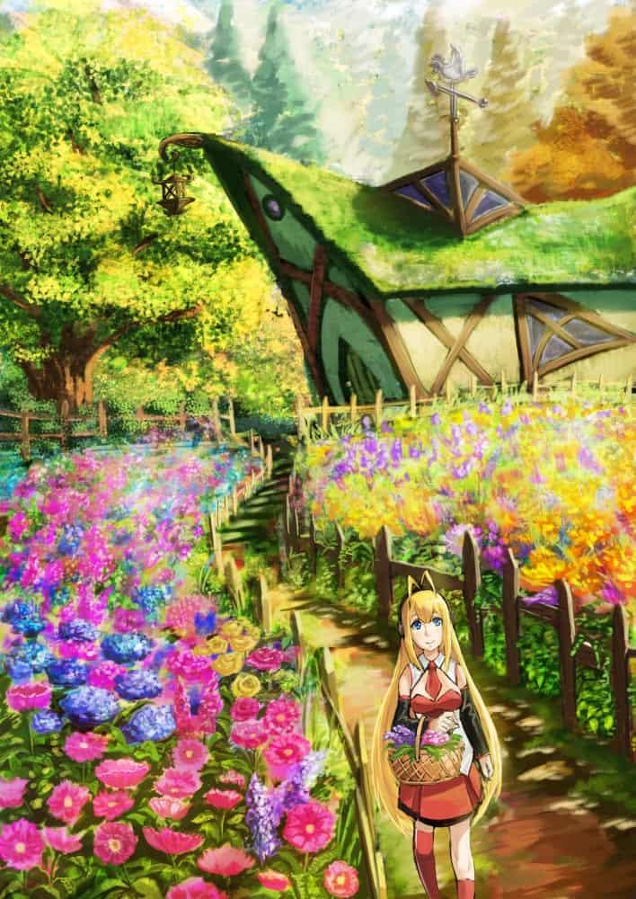 お花とマキマキ Illust of apacchi64 弦巻マキ background flower