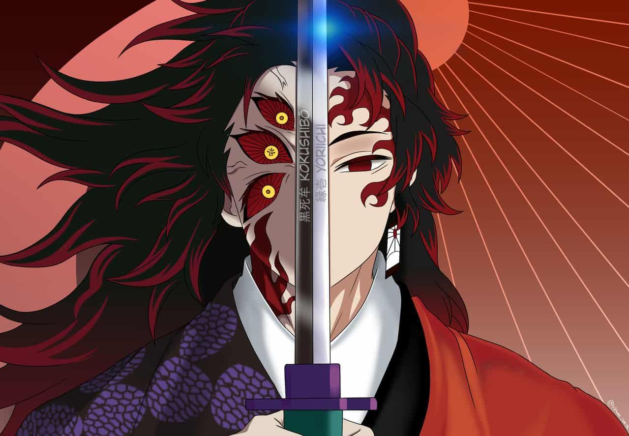 Kokushibou & yoriichi Illust of Kitsune san DemonSlayerFanartContest UpperMoon KimetsunoYaiba TsugikuniYoriich kokushibo