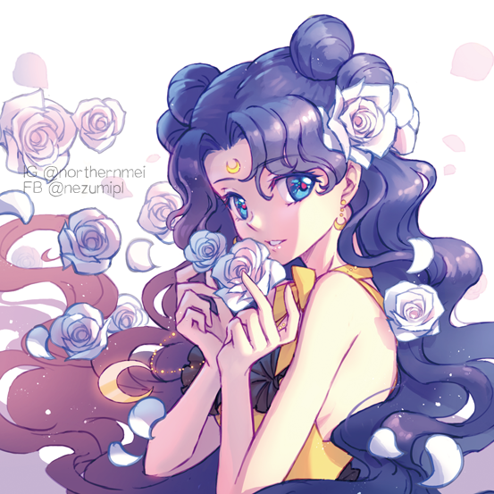 LUNA Illust of 仙梅 露娜 美少女 LUNA PrettyGuardianSailorMoon