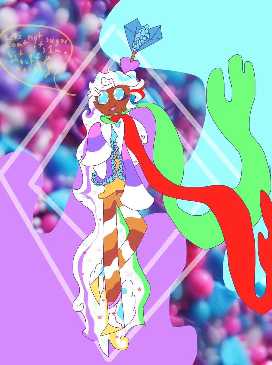 Candytale Izzy! Illust of Hoshi travels the cosmos medibangpaint