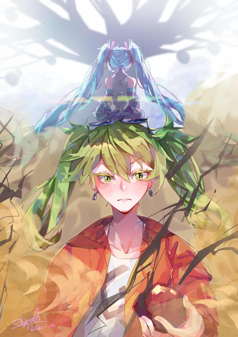 砂の惑星 Illust of ユ 砂の惑星 hatsunemiku VOCALOID