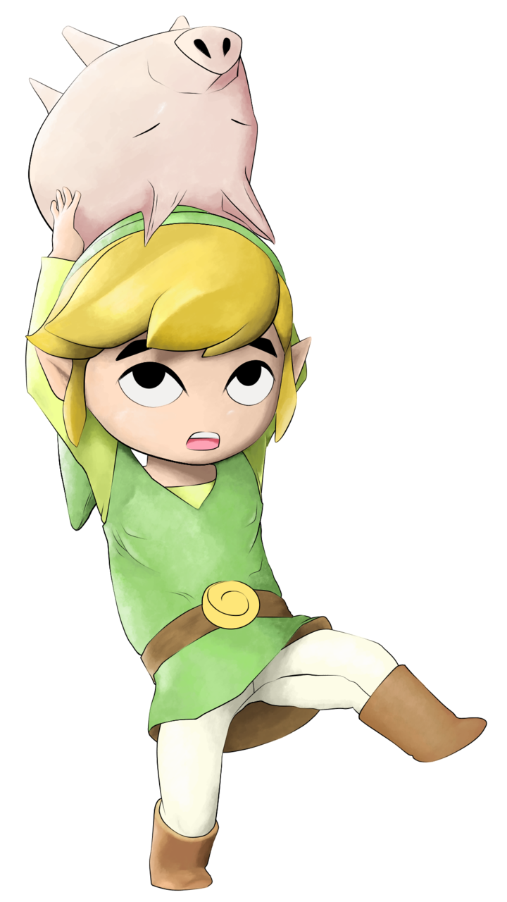 Link Wind Waker Illust of NeokVG Link fanart ゼルダの伝説風のタクト Zelda Wind Waker