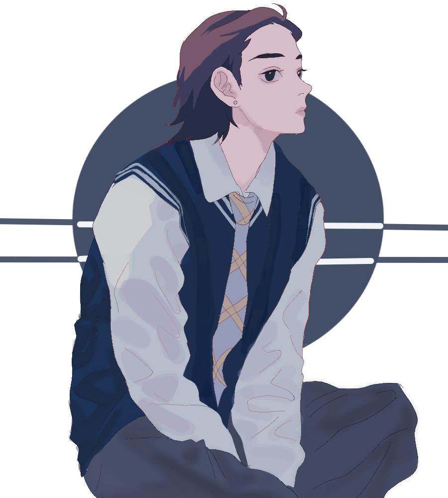 Illust of sir medibangpaint boy