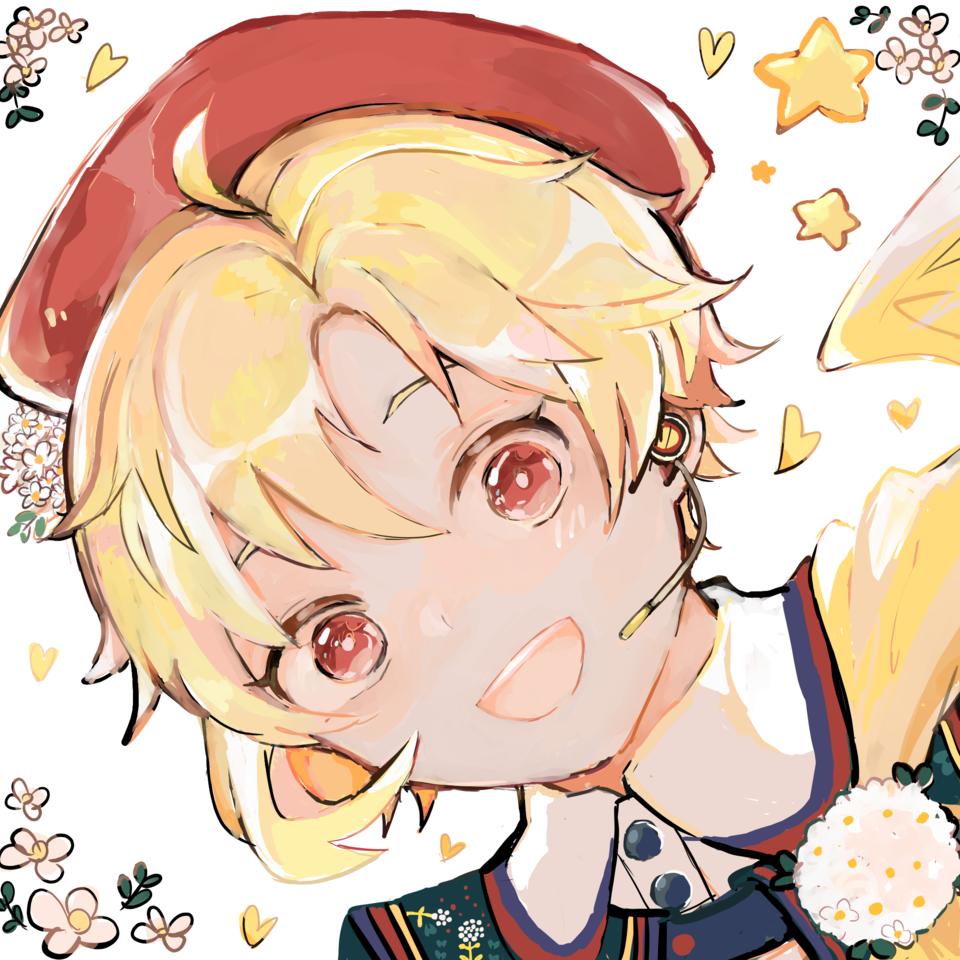🐇🌼 Illust of MELT EnsembleStars medibangpaint flower boy