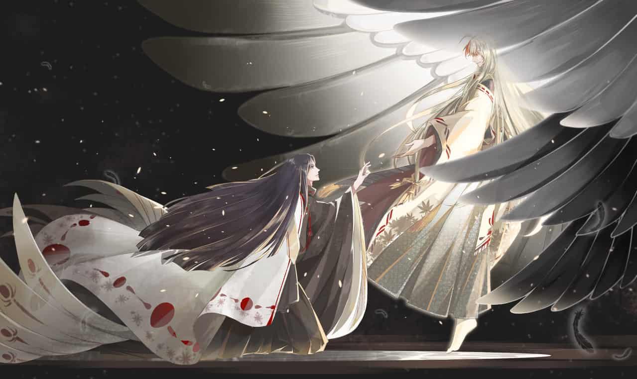 鹤の夢 Illust of 渊目-ritsu Feb2020:VDAY 鬼切 Onmyouji 源赖光 陰陽
