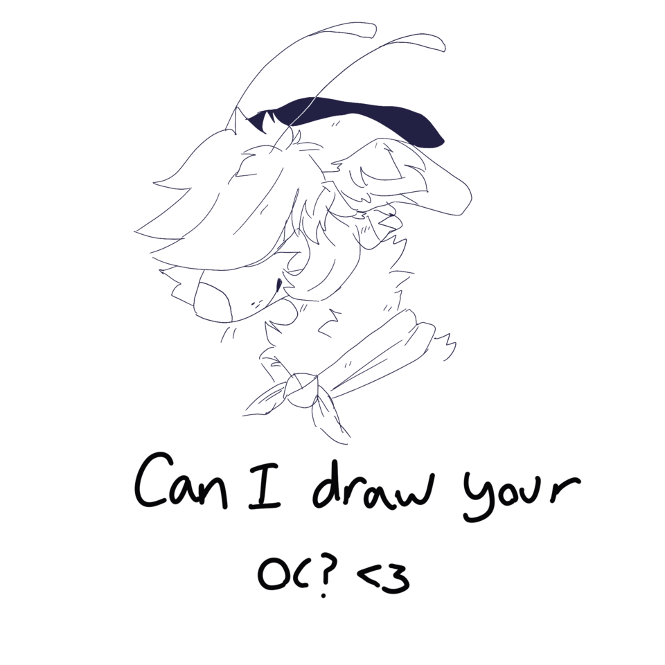 Could I draw your oc? Illust of Sleepyxx (INACTIVE)