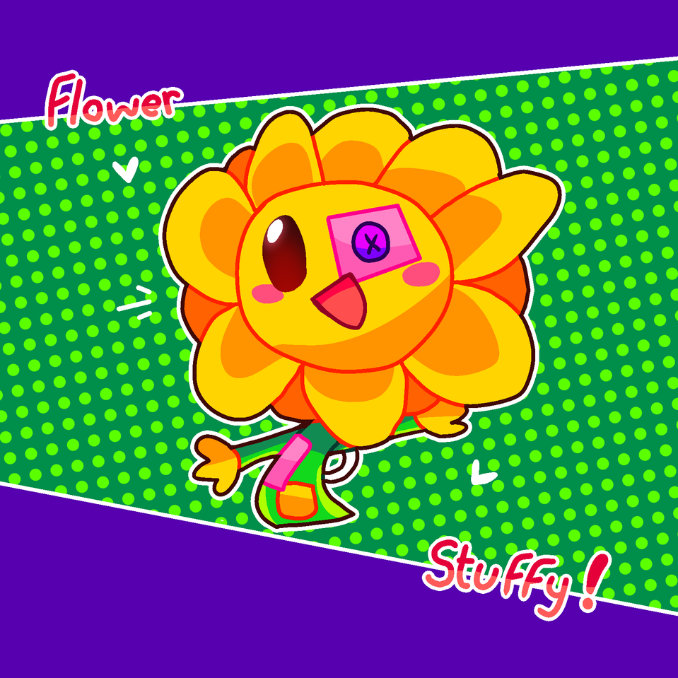 stuffy flower! :D Illust of Zizi stuffy flower stuffy flower hug
