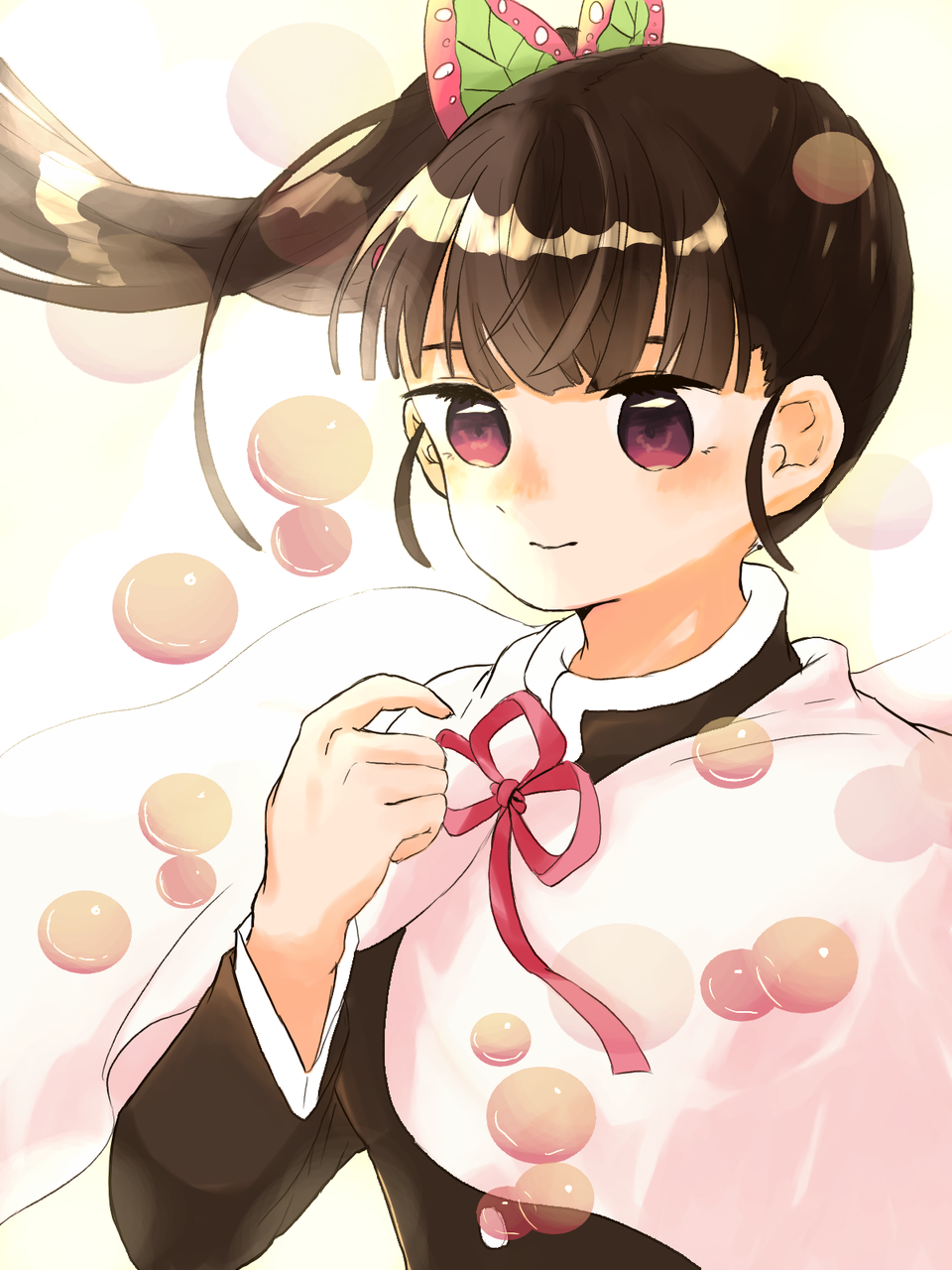一日遅れのおめでとう Illust of ト・リ・コ・ス・ケ TsuyuriKanao birthday KimetsunoYaiba