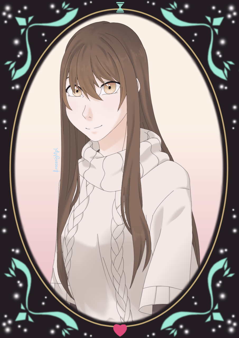 Mystic Messenger MC Illust of frozenightpl medibangpaint