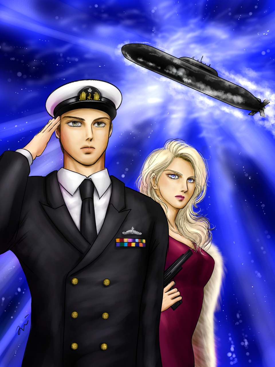 オホーツク海の流星 Illust of Artemis GOMABOOKS_Contest medibangpaint