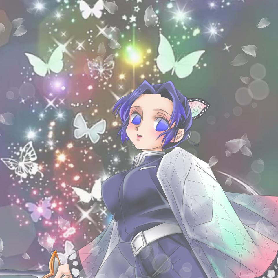 蝶の舞 Illust of いちこ DemonSlayerFanartContest KimetsunoYaiba KochouShinobu