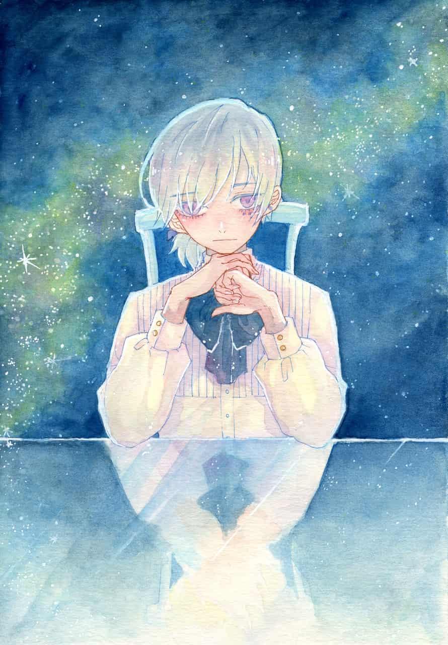 Illust of ゆのじ original アナログ starry_sky