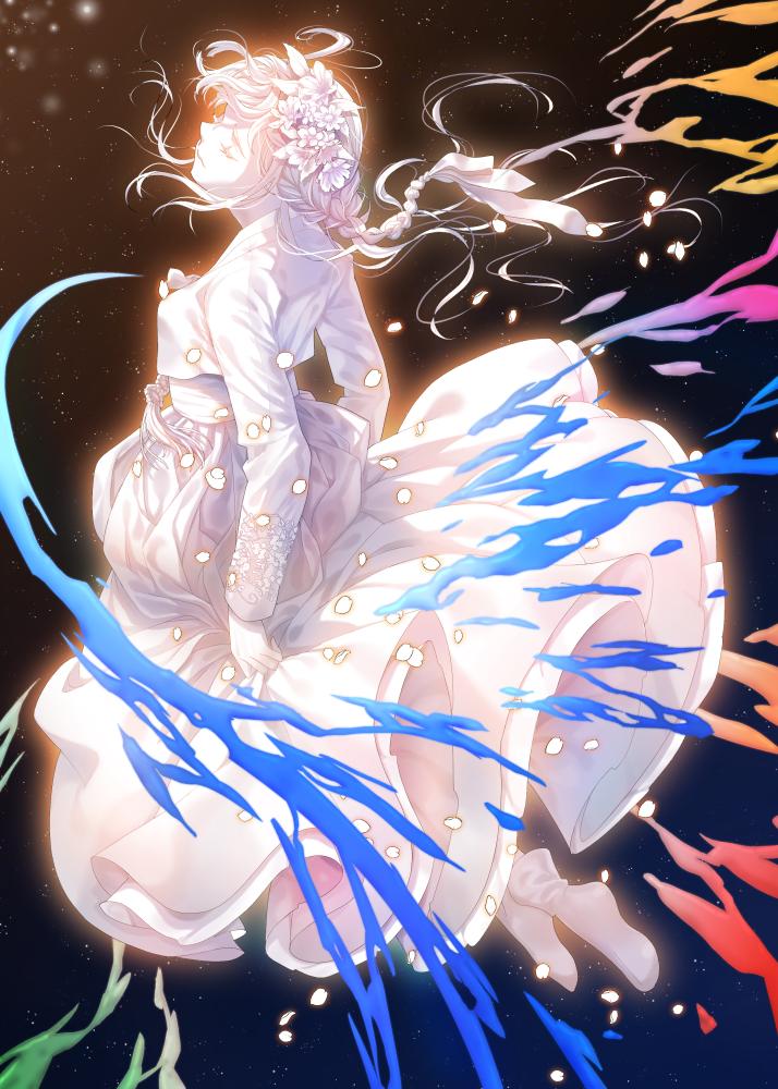scatter petals Illust of Ns April.2020Contest:Color ARTstreet_Ranking