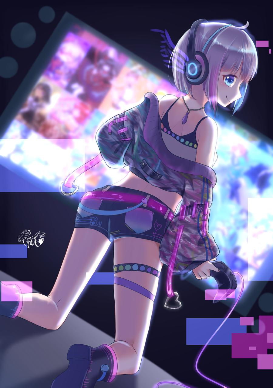 Are you Ready? Illust of 夢羽 結 medibangpaint game girl illustration oc