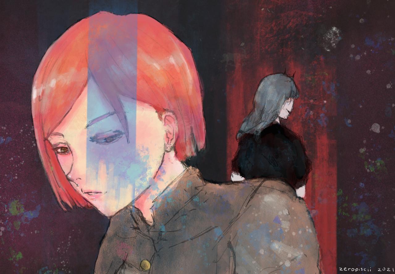 Kugisaki Nobara: Lingering Hope Illust of zeropiscii JujutsuKaisenFanartContest nobara JujutsuKaisen mahito Nobara_Kugisaki